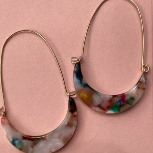 [ nwot ] Fabulous Rose Gold Earrings